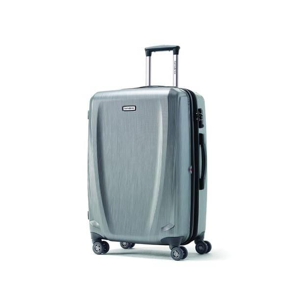 Brand > Samsonite Samsonite Pursuit Dlx Spinner Medium - Luggage CitySamsonite Silver