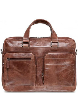 Mancini Double Compartment 15.6'' Laptop / Tablet Briefcase