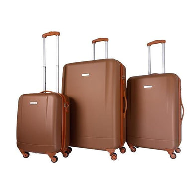 Trochi Base 3Pc Expandable Hardside Luggage Set