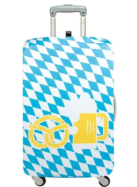 27in-30in Luggage Cover - Pretzel