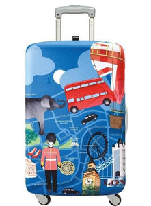 23in-26in Luggage Cover - London