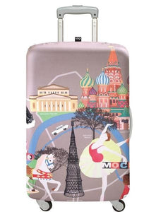 23in-26in Luggage Cover - MOSCOW