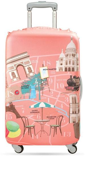 Accessories 23In-26In Luggage Cover - Paris - Luggage CityLOQI