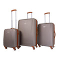 Trochi Base 3Pc Expandable Hardside Luggage Set - Luggage City