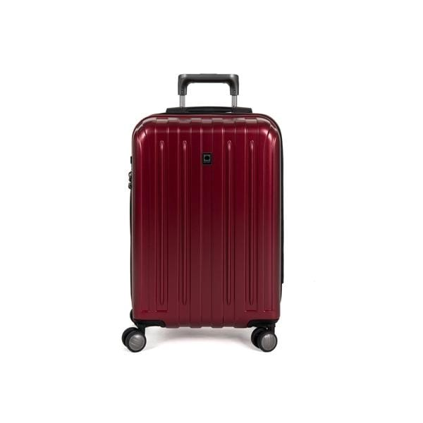 Brand > Delsey Delsey Helium Titanium 19In Hardside Spinner - Luggage CityDelsey Red