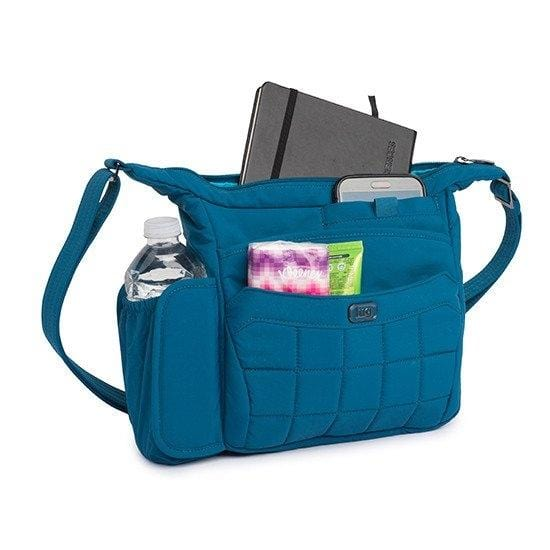 Handbags Lug Flutter Mini Shoulder Pouch - Luggage CityLug Ocean Blue