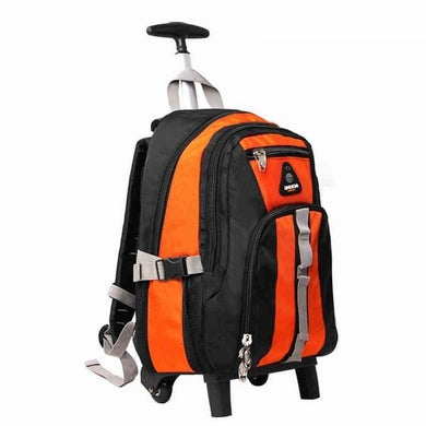 Aoking 18in Nylon Wheeled Backpack