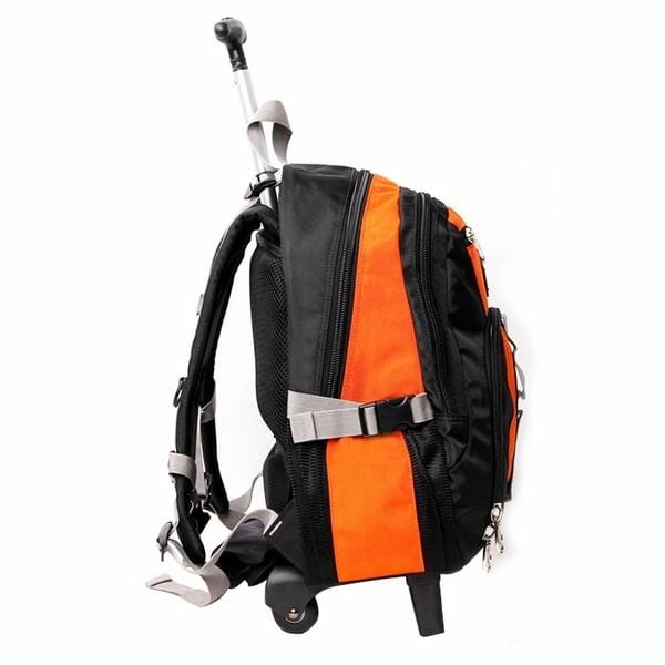 Aoking 18In Nylon Wheeled Backpack - Luggage City