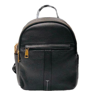 City Leather Backpack - Luggage City