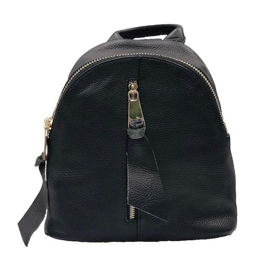 City Leather Backpack