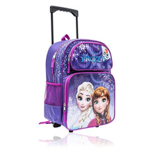 "Disney Frozen 16"" Rolling Backpack - Luggage City"