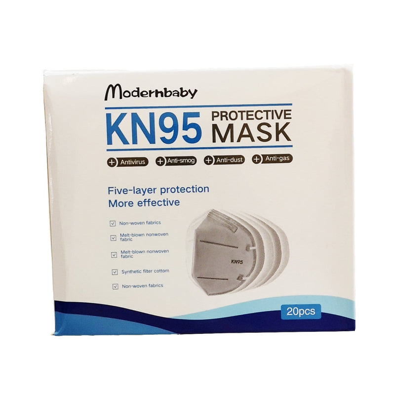 Accessories Modernbaby KN95 Protective Face Masks 20pcs - Luggage CityLuggage City