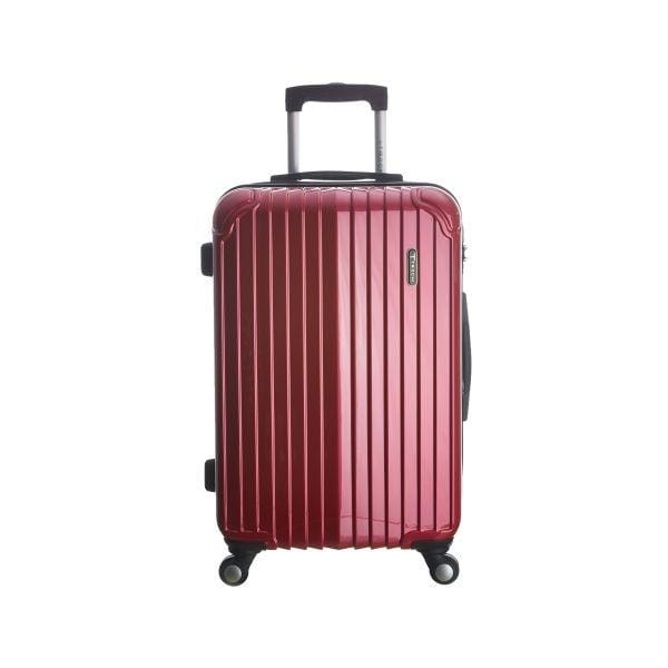 "Luggage Trochi Knight 28"" Large Spinner - Luggage CityTrochi Red"