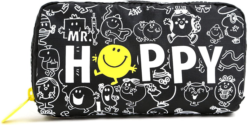 Brand > LeSportsac LeSportsac Rectangular Cosmetic Premium | Limited Edition Collaboration with Mr Men Little Miss - Mr. Happy - Luggage CityLeSportsac G266-Mr.Daydream
