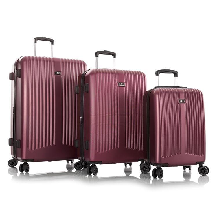 Leo By Heys - Levante Lightweight Spinner Luggage 3Pc. Set