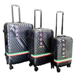"Mia Toro Lucente 22"", 27"" and 31"" Spinner 3Pcs Set - Luggage City"