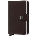 Accessories Secrid Rfid Miniwallet Original - Luggage CitySecrid Brown Dark