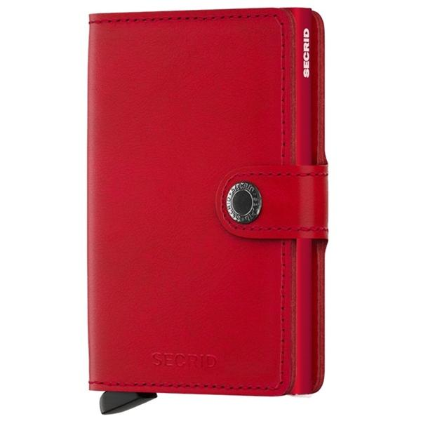 Accessories Secrid Rfid Miniwallet Original - Luggage CitySecrid Red