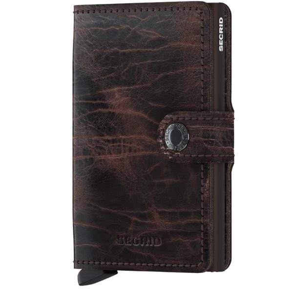 Accessories Secrid Rfid Miniwallet Dutch Martin - Luggage CitySecrid Cacao Brown