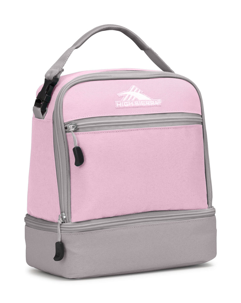 Kids > Lunch Bag High Sierra Stacked Lunch Bag - Luggage CityHigh Sierra Iced Lilac/ Ash