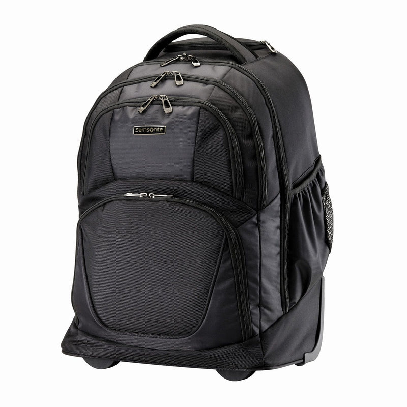 Backpacks Samsonite MVS Wheeled Business Backpack - Luggage CitySamsonite
