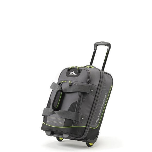 High Sierra Break-Out Carry-On Wheeled Duffle Upright - Luggage City