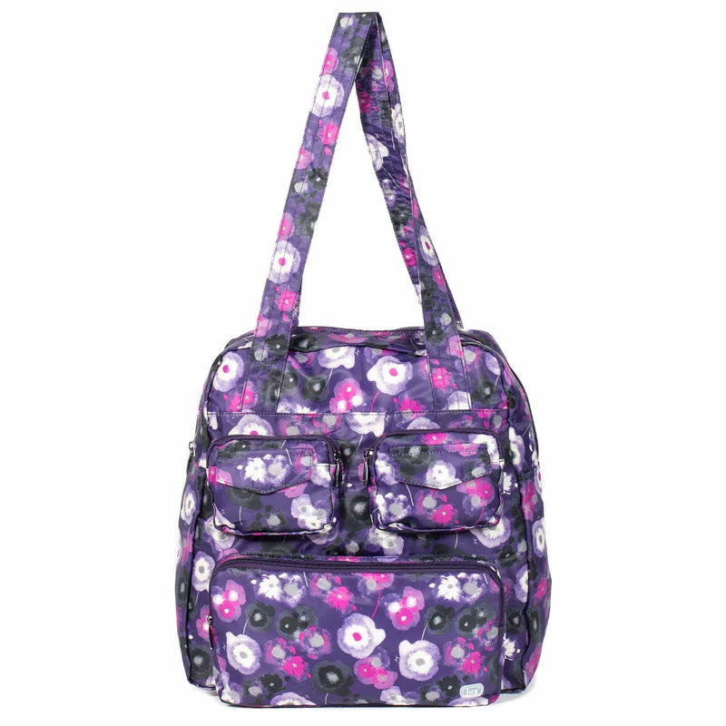 Brand > Lug Lug Puddle Jumper Packable - Luggage CityLuggage City Water Purple
