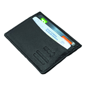 Leather RFID Credit Card Holder