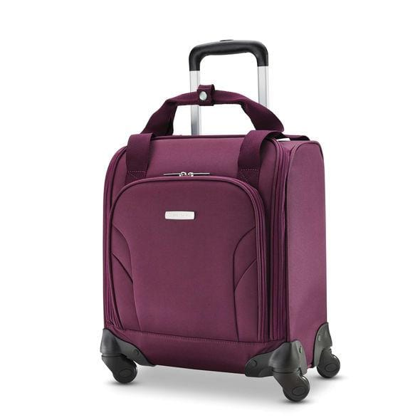 Business & Tech Samsonite Mobile Office Spinner Underseater With Usb Port - Luggage CitySamsonite Purple