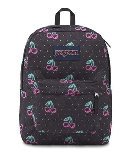Jansport SuperBreak Backpack - 49N-Neon Cherries