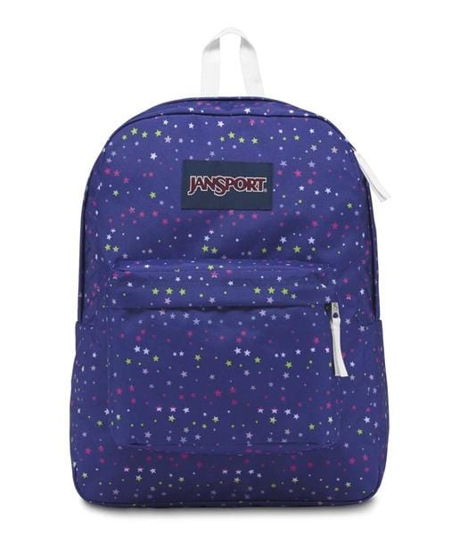 Jansport SuperBreak Backpack - 49S-Scattered Stars