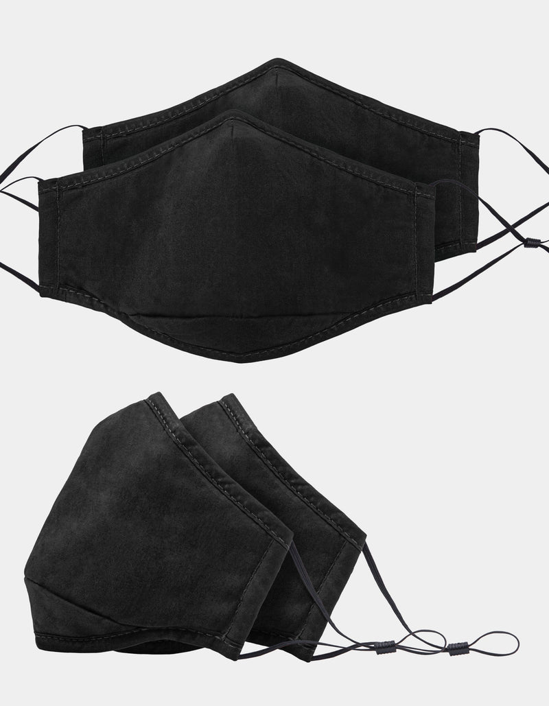 Accessories Swiss Mobility Washable Cotton Face Masks 2PK With 1 Filter - Luggage CityBugatti