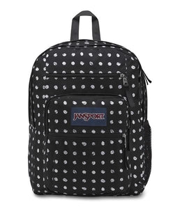 Jansport Big Student Backpack - 4J6-Black Sketch Dot