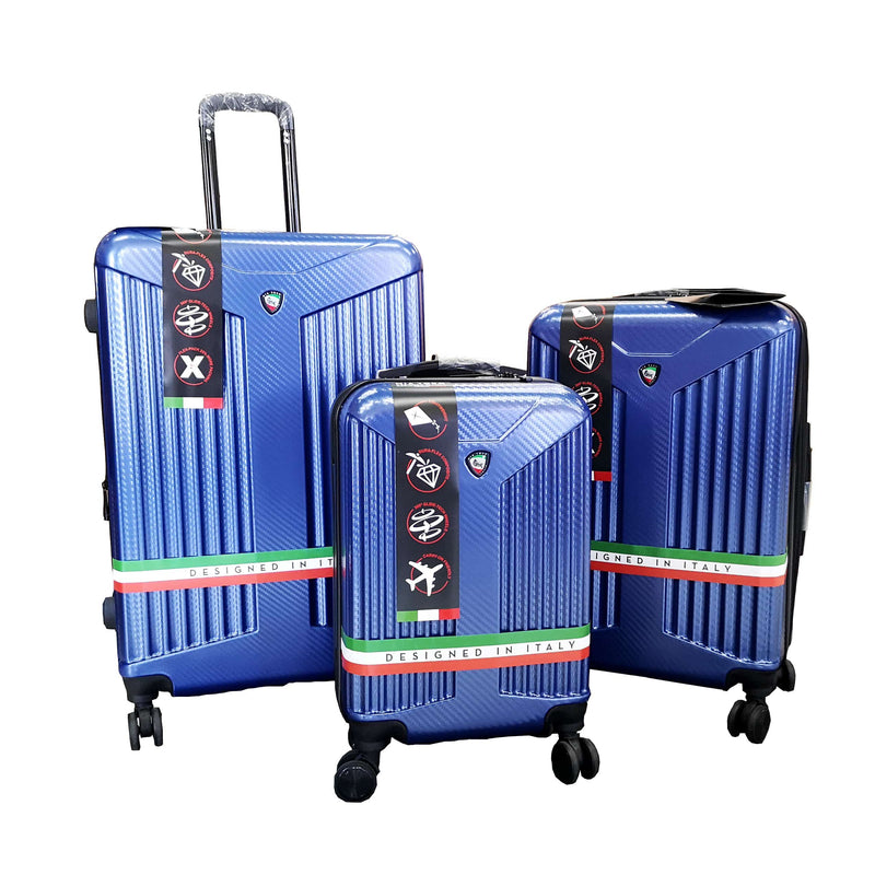 "Mia Toro Tera 22"", 27"" and 31"" Spinner 3Pcs Set - Luggage City"