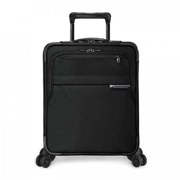 Luggage > Softside Luggage Briggs & Riley Baseline Intl. Carry-On Expandable Wide-Body Spinner - Luggage CityBriggs & Riley Black