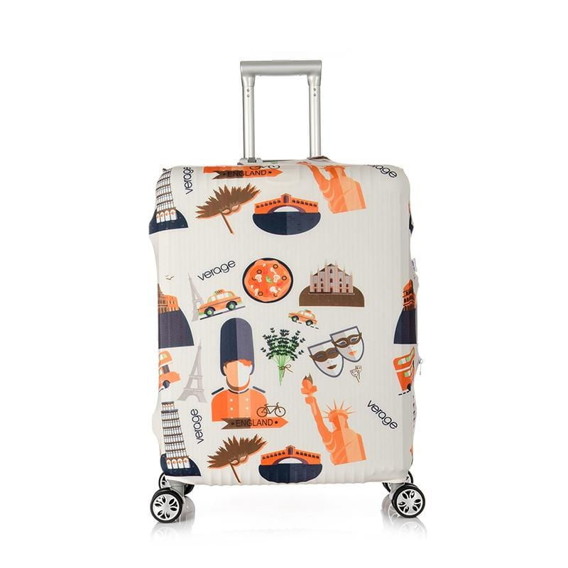 Accessories Verage 28In-30In Luggage Cover - Beautiful World - Luggage CityVerage