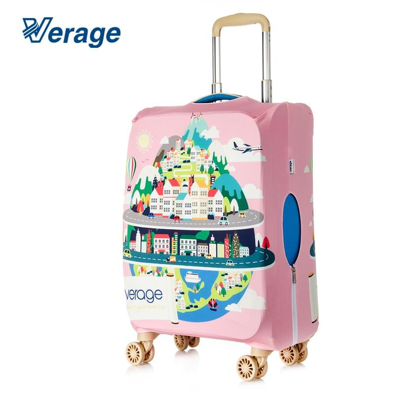 Verage 28In-30In Luggage Cover - Urban Landscape - Luggage City