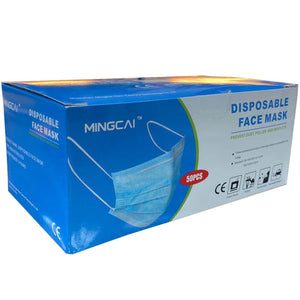 Disposable Face mask, 50pcs - Luggage City
