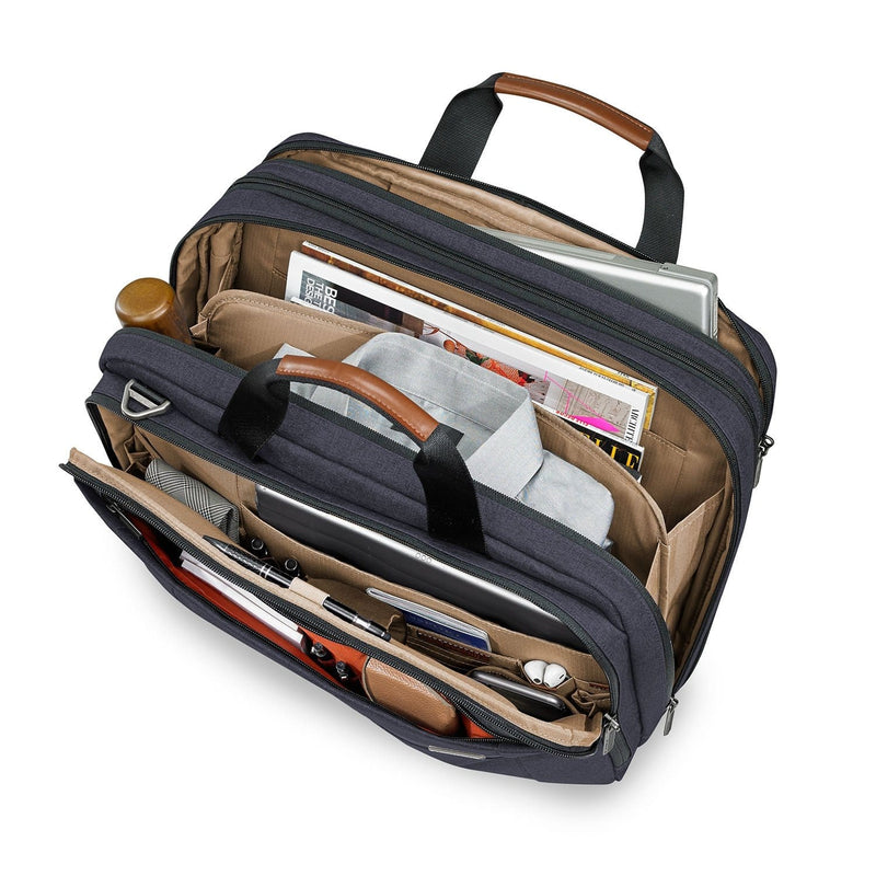 Business & Tech Briggs & Riley Kinzie Street Medium Expandable Brief - Luggage CityBriggs & Riley