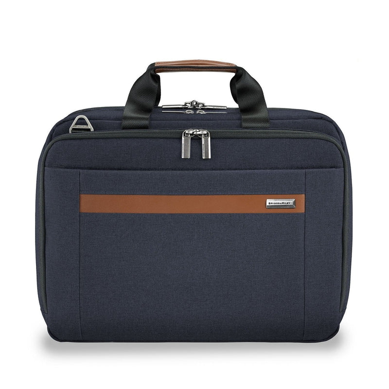 Business & Tech Briggs & Riley Kinzie Street Medium Expandable Brief - Luggage CityBriggs & Riley Navy