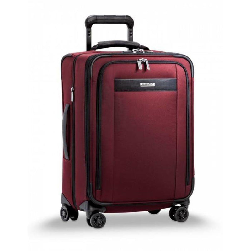 Briggs & Riley Transcend Tall Carry-On Zip Expandable Spinner - Luggage City