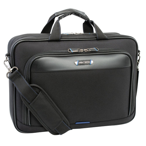 Nextech Double Gusset Ultra Lite 17.3 Inch Laptop Briefcase