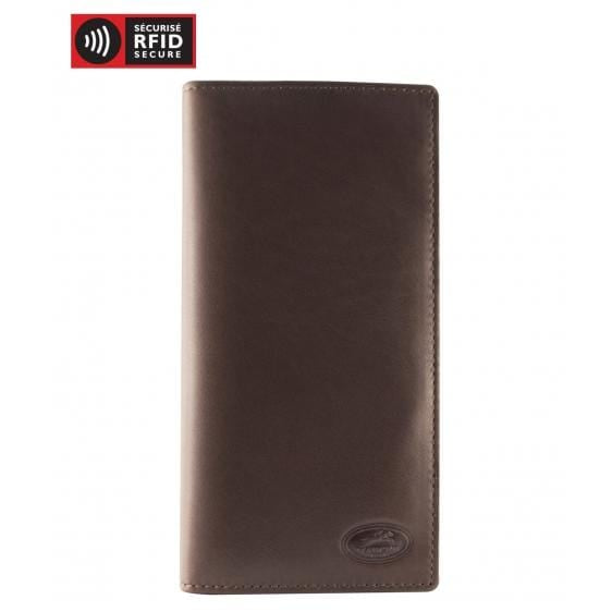 Mancini Men'S Leather Breast Pocket Wallet - Luggage City