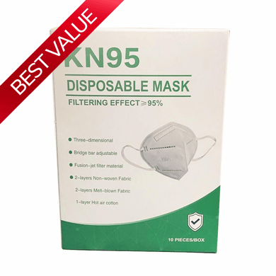 KN95 Disposable Face Masks 10pcs - Luggage City
