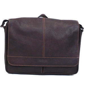 Kenneth Cole 3in Single Gusset Flapover Messenger