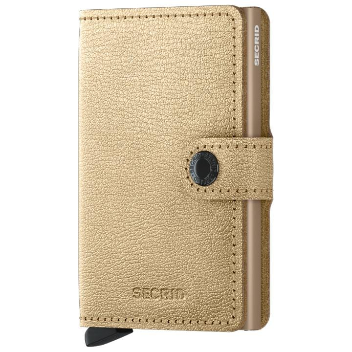 Accessories Secrid Rfid Miniwallet Antique - Luggage CitySecrid Gold