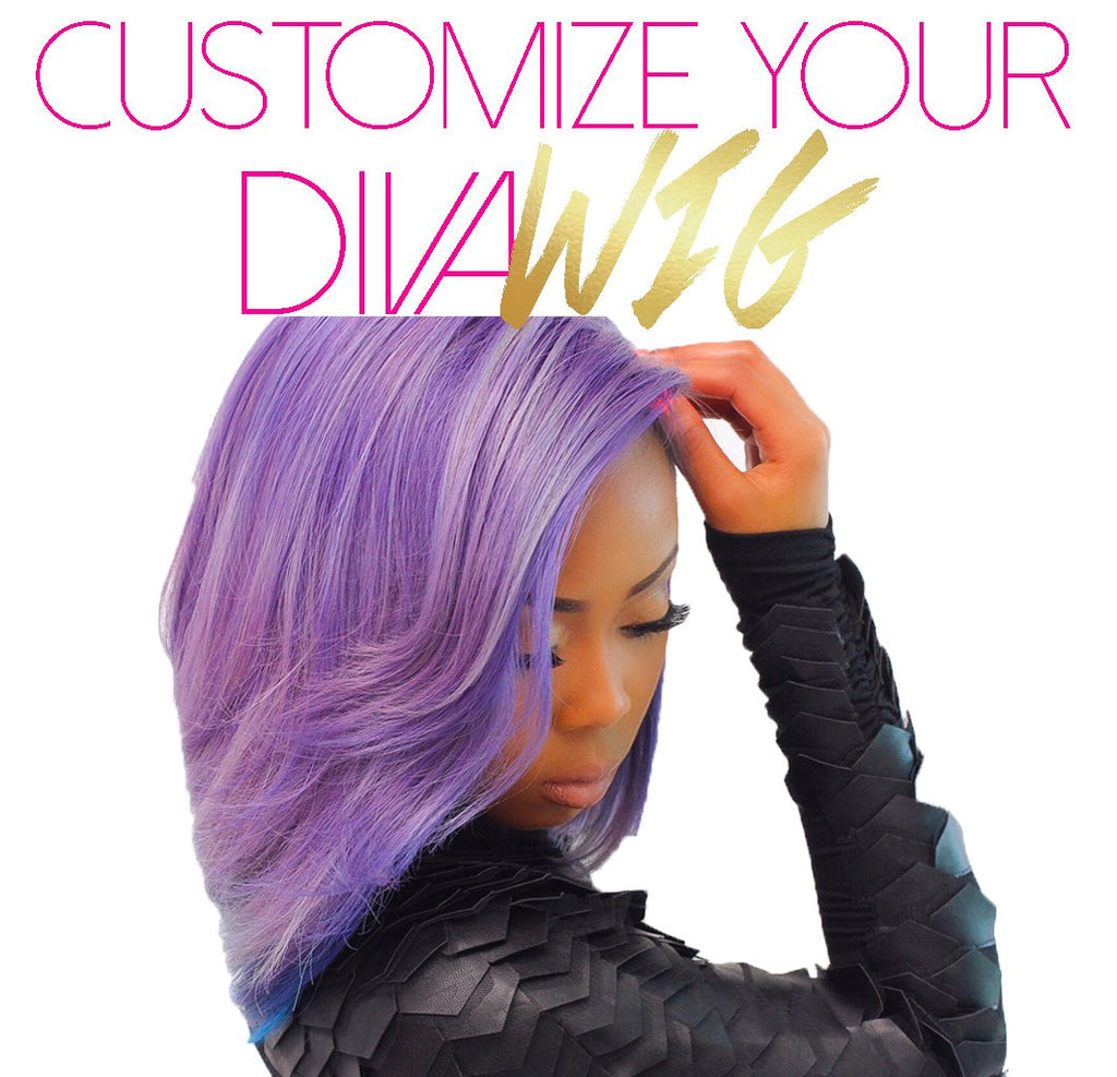 Customize Your Diva Wig