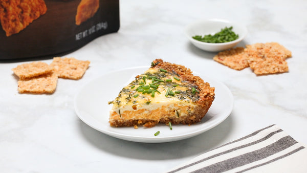 Low Carb Bacon Cheddar Quiche