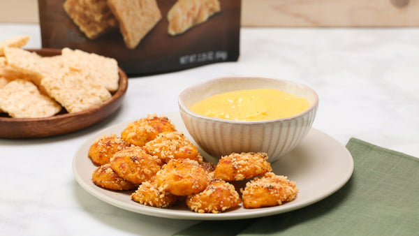 Parmesan Butternut Squash Tots with Garlic Aioli