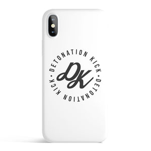 Detonation Kick iPhone Case (white)